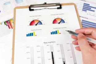 clipboard-key metrics charts