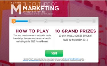 future of marketing-start page