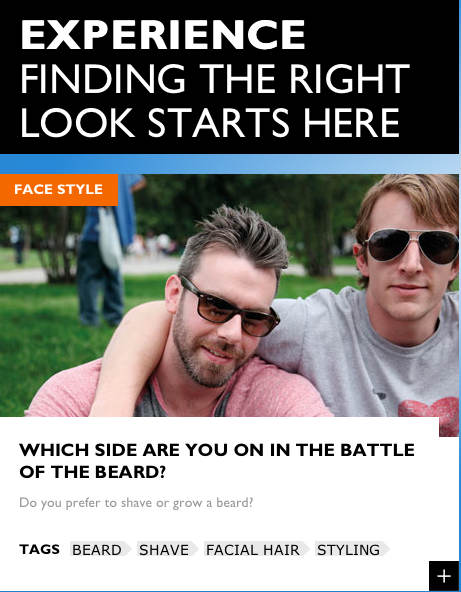 beard experience-finding right look