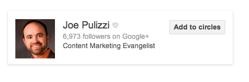 joe pulizzi search example