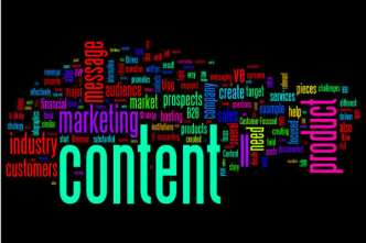 content-colorful  word cloud