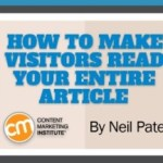 How to Make Visitors Read Your Entire Article