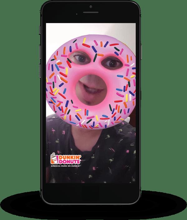 snapchat-sponsored-lenses-dunkin-donuts-example