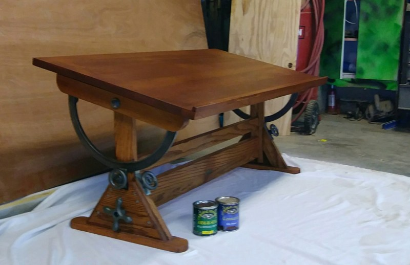Large Of Antique Drafting Table