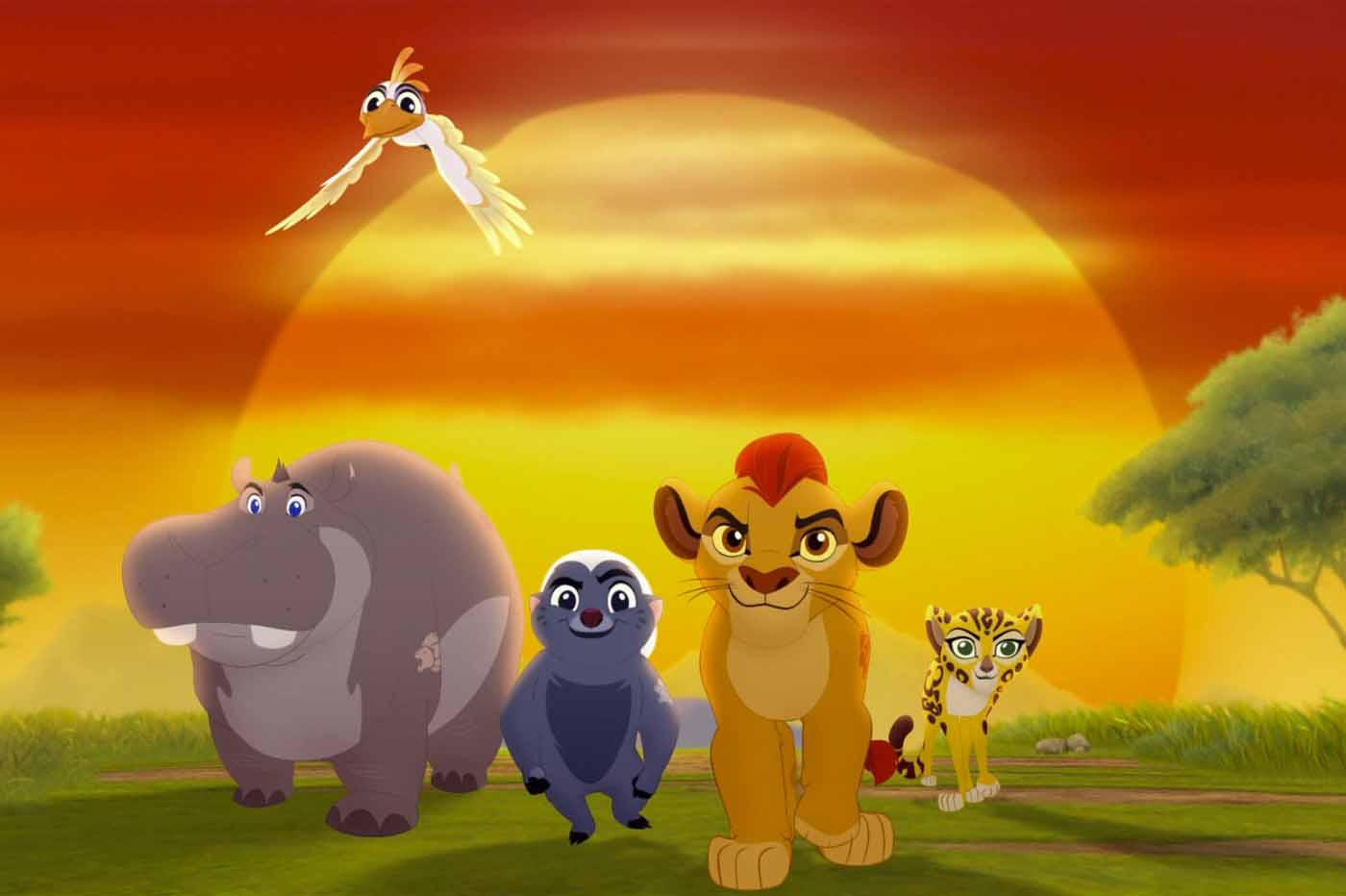 La guardia del león
