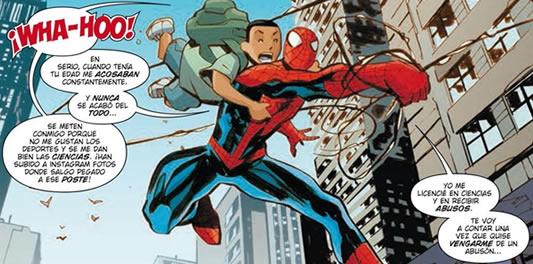 bi-comic-marvel-acoso-escolar-spiderman