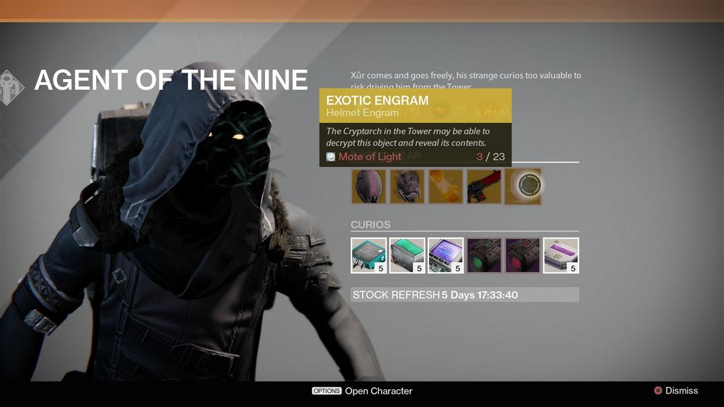 God i hate engrams i paid 23 motes of light for an exotic engram that