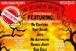 Words Unsaid Presents 'The Halloween Special' – Thursday, October 27 | Events