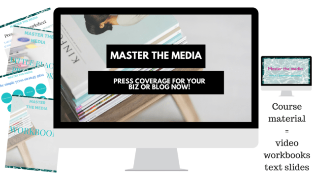 PR and free publicity course by digital nomad and freelance blogger and photographer Noni May | Master the media: press coverage NOW. How to get your business or blog in the press. A step by step guide to free publicity and travel guides, checklists and inspiration prints shop now!