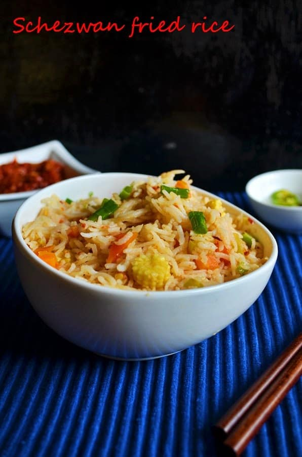 Schezwan fried rice recipe, how to make schezwan fried rice