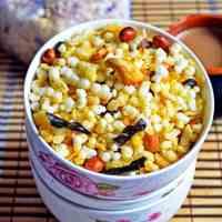 Sago/Jawarisi mixture recipe | how to make sago/jawarisi mixture/chivda