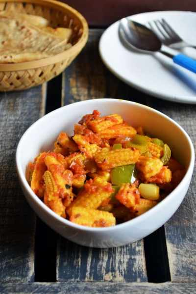 Baby corn stirfry recipe | how to make baby corn stir fry| Easy babycorn recipes
