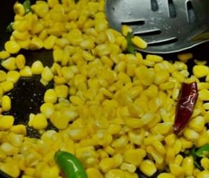 sweet corn sundal step3