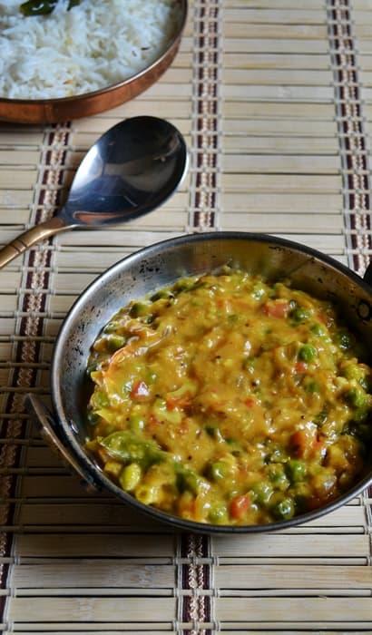 peas masala step 6