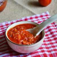 Easy pizza sauce recipe | How to make pizza sauce recipe at home