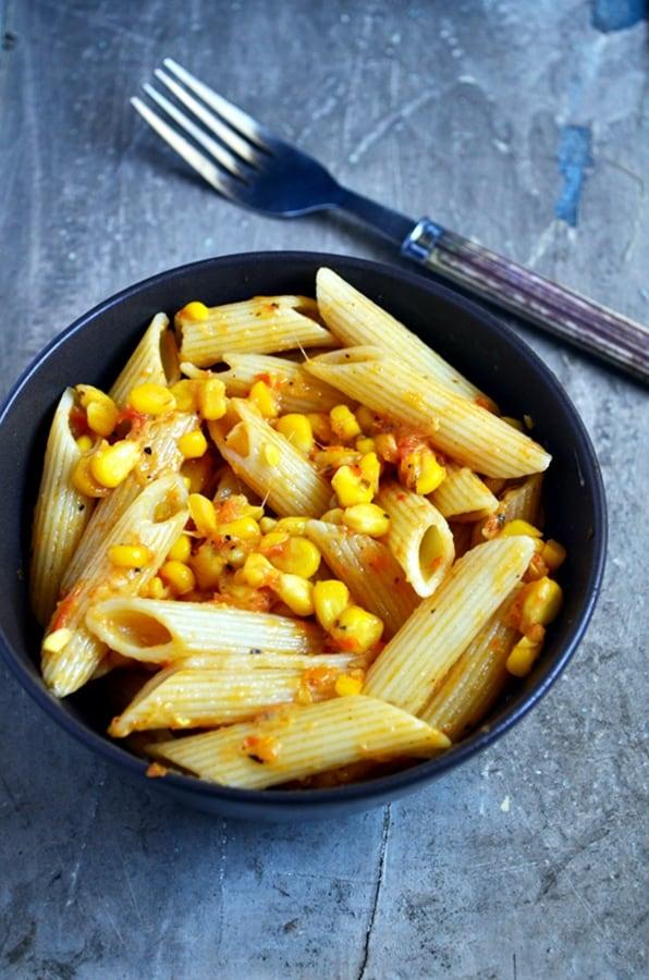 butter corn pasta recipe2