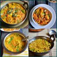 10 easy side dish recipes for rotis/chapathis | Side dish recipe collection