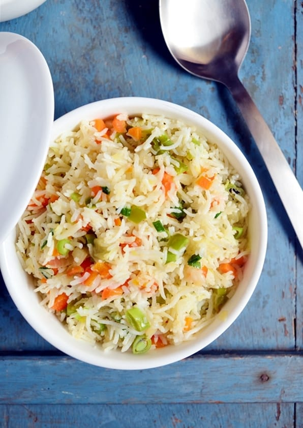 ... fried rice recipe Indian style,how to make vegetable fried rice recipe
