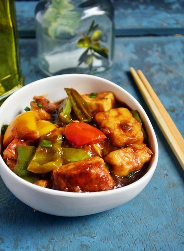 chilli paneer recipe2