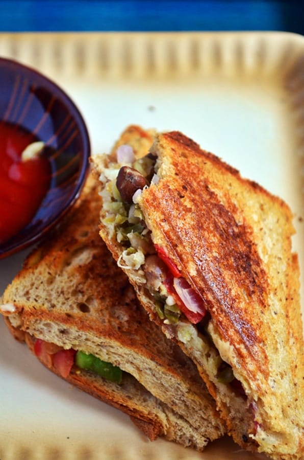 Bean Sprout Sandwich Sprouts Sandwich Recipe With