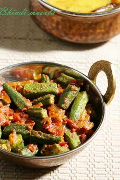 Bhindi masala recipe, how to make bhindi masala