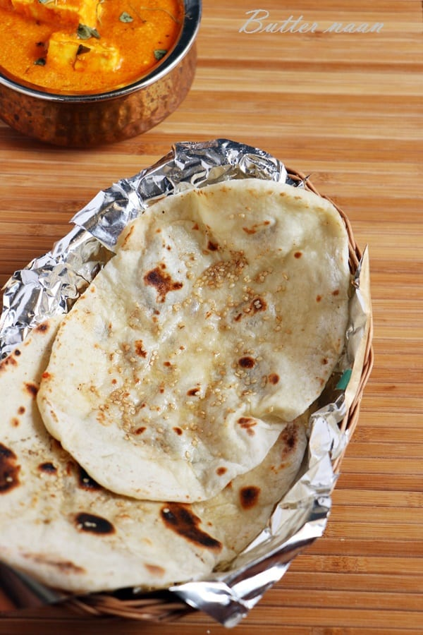 butter naan recipe
