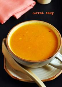carrot soup recipe, how to make carrot soup | Easy soup recipes