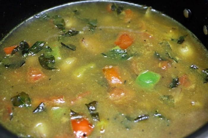 tiffin sambar step 9