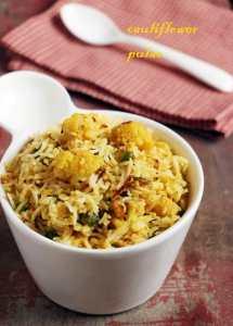 Cauliflower rice recipe  Easy cauliflower recipes