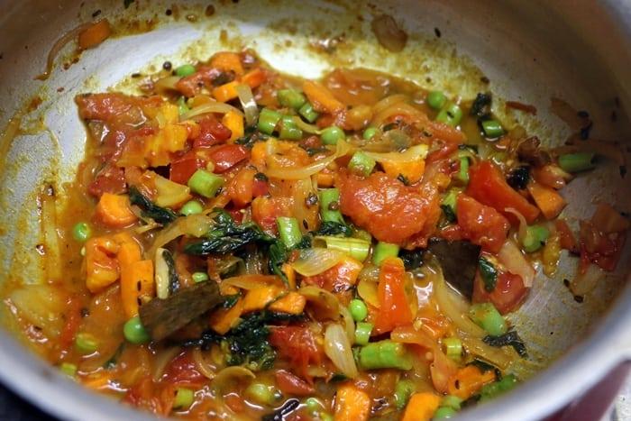 tomato bath step 8