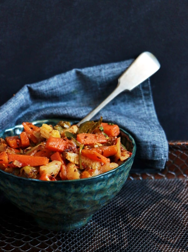 mixed veg curry recipe d