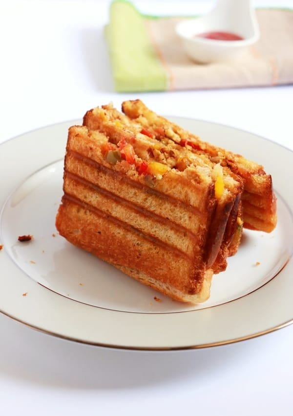 paneer sandwich recipe