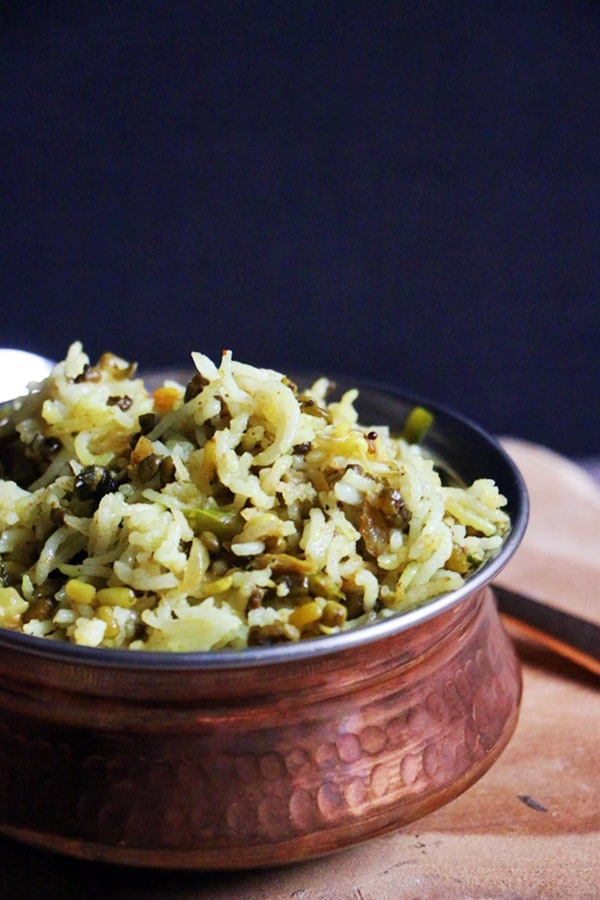moong sprouts pulao recipe