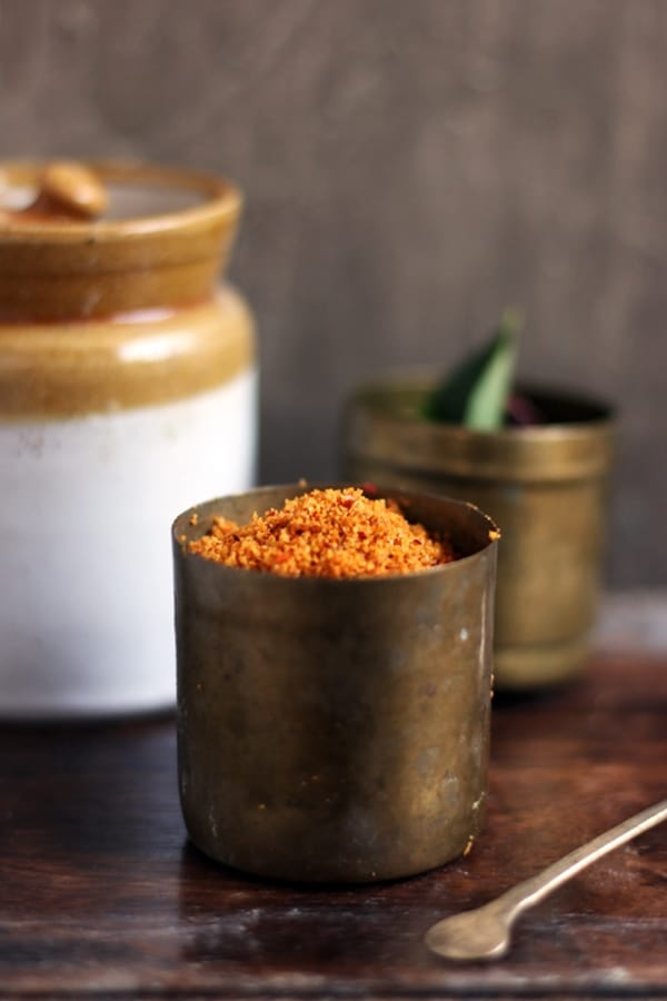 udupi sambar powder recipe e