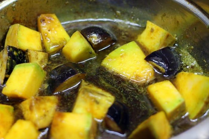 udupi sambar step 2