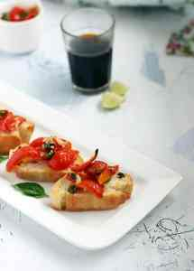 Bruschetta recipe | How to make bruschetta recipe
