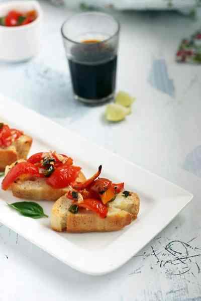 Bruschetta recipe   How to make bruschetta recipe
