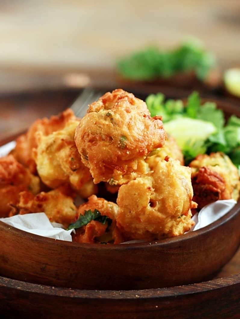 Indian veg fritters recipe