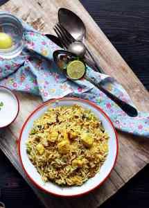 Paneer biryani recipe   Easy paneer biryani recipe