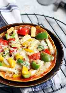 Besan chilla pizza recipe | Gluten free no yeast pizza recipe