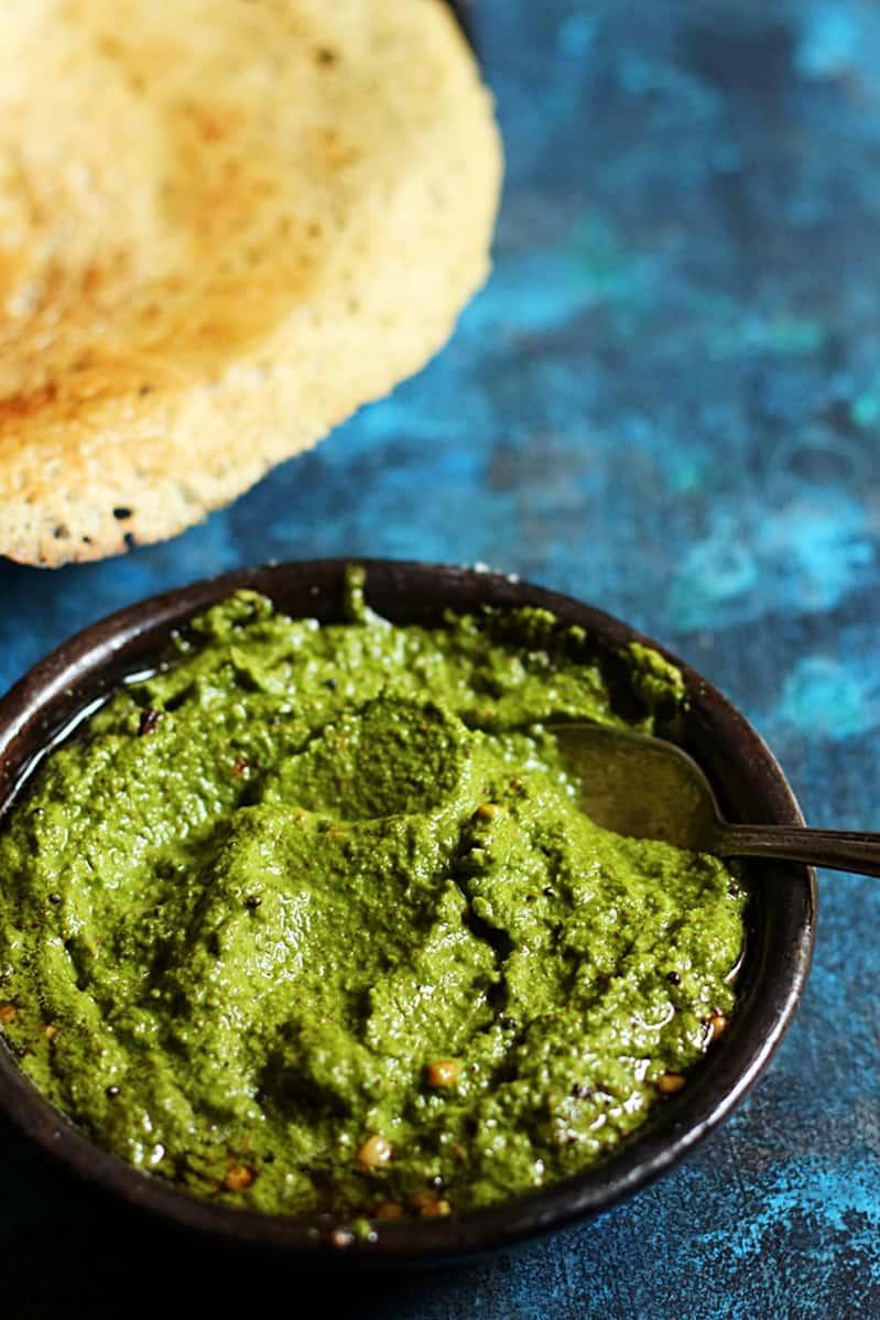 green cococnut chutney recipe b
