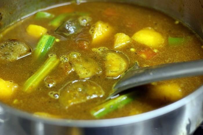 kadamba sambar recipe 4