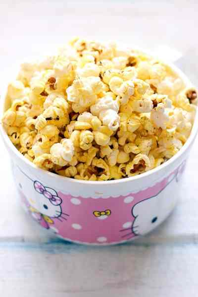 Butter popcorn recipe Indian style   Popcorn recipe on stove top