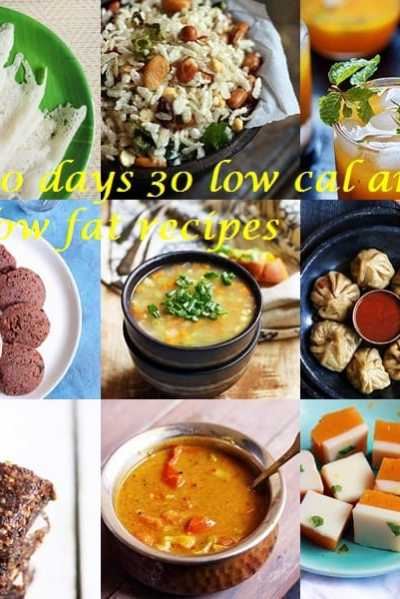 30 days 30 low fat/ low cal recipes collection