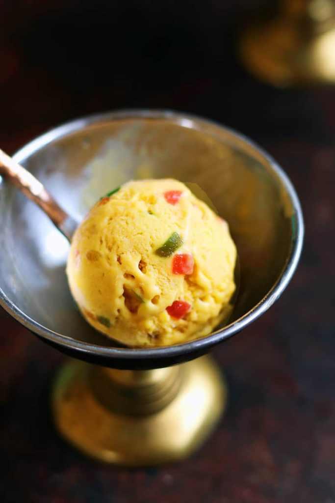 mango ice cream recipe with coconut cream