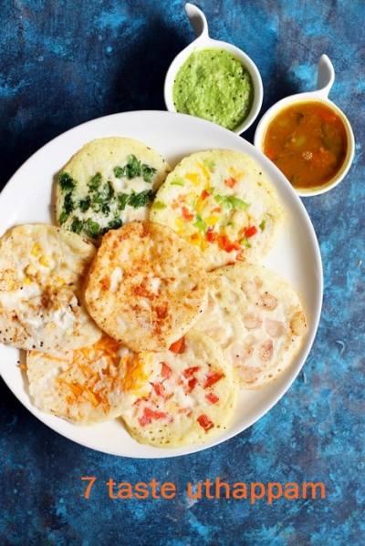7 taste uthappam recipe | Easy breakfast recipes