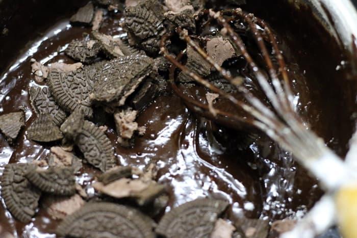 oreo brownies recipe step 3