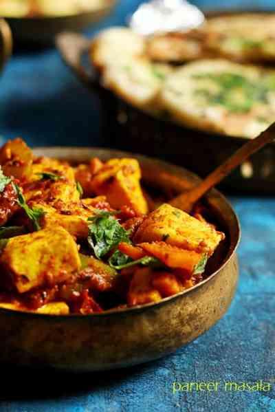 Paneer curry recipe in 10 minutes | Easy paneer curry recipe | Indian paneer recipes
