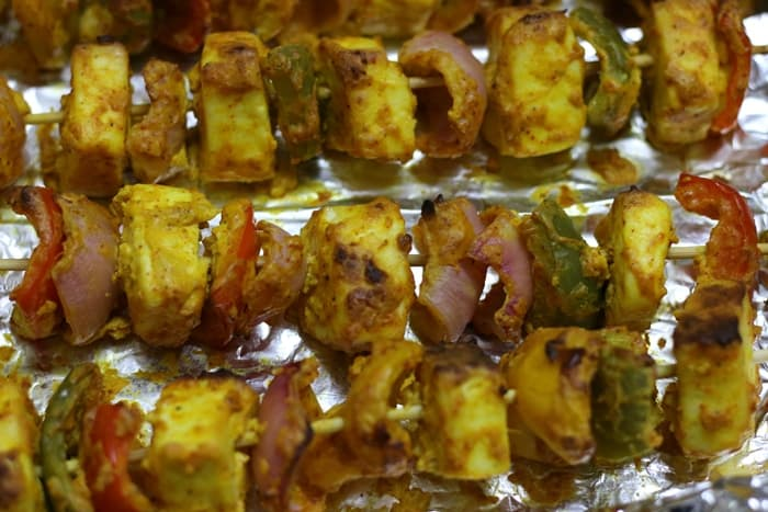 paneer tikka recipe step 7