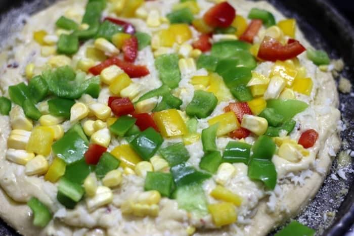 white sauce pizza recipe step 6